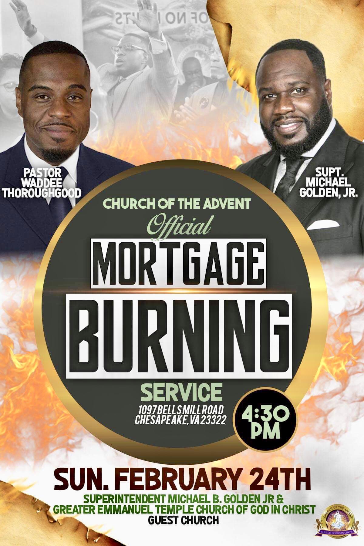 Mortgage Burning